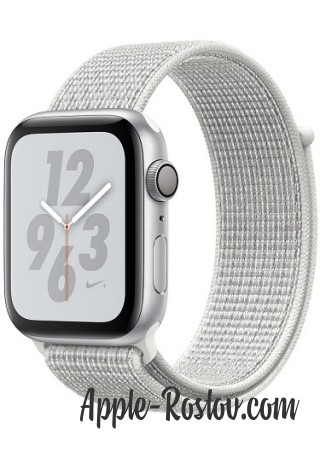 Apple Watch Series 4 Nike+ 40mm Silver / White Nike Loop