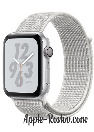 Apple Watch Series 4 Nike+ 44mm Silver / White Nike Loop