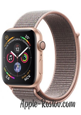 Apple Watch Series 4 40mm Gold / Pink sand loop