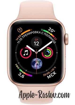 Apple Watch Series 4 40mm Gold / Sport Rose
