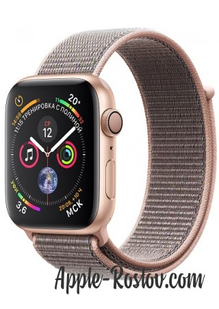 Apple Watch Series 4 44mm Gold / Pink sand loop