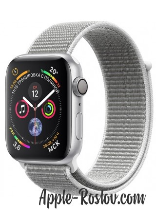Apple Watch Series 4 40mm Silver / Seashell loop