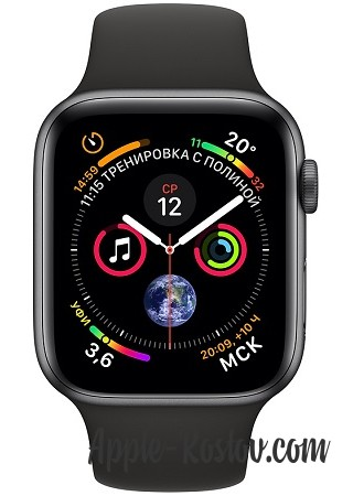 Apple Watch Series 4 40mm Space Gray / Sport Black