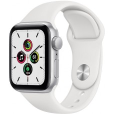 Apple Watch SE 44mm Silver / White
