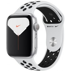Apple Watch Series 5 Nike 44mm Silver / Pure Platinum Black