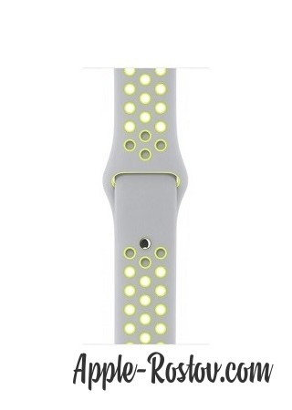 Apple Watch NIKE+ 38 mm silver/silver - green