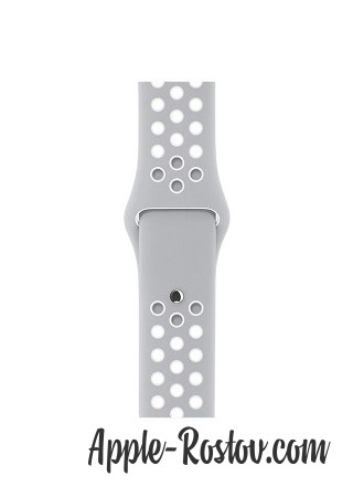 Apple Watch NIKE+ 38 mm silver/silver - white