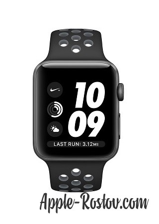 Apple Watch NIKE+ 42 mm space gray/black - cold gray