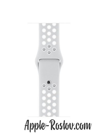 Apple Watch NIKE+ 38 mm silver/white