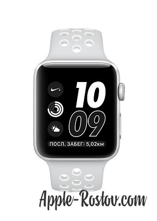 Apple Watch NIKE+ 42 mm silver/white