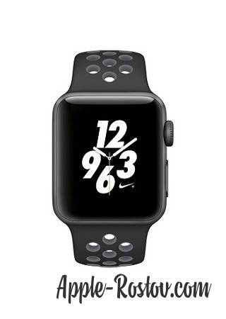 Apple Watch NIKE+ 38 mm space gray/black