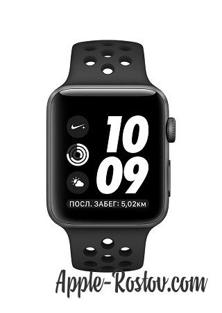 Apple Watch NIKE+ 42 mm space gray/black