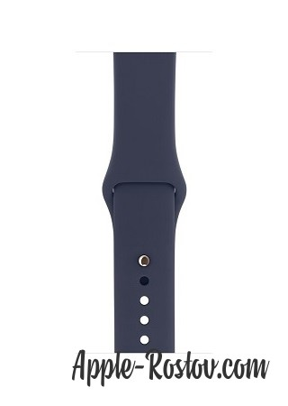 Apple Watch 42 mm gold/sport midnig blue