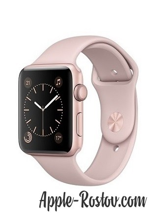 Apple Watch 38 mm rose gold/sport pink