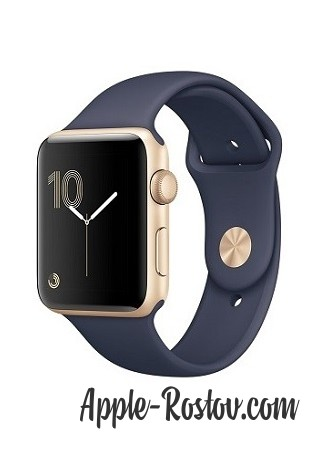 Apple Watch 2 42 mm gold/sport midnig blue
