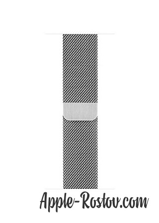 Apple Watch 2 42 mm stainless steel/milanese silver