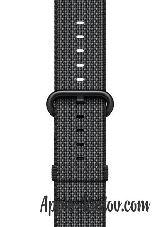 Apple Watch Series 2 38mm Black with Woven Nylon