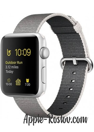 Apple Watch Series 2 38mm Silver with Woven Nylon