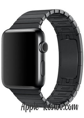 Apple Watch 2 42 mm stainless steel/link bracelet Black