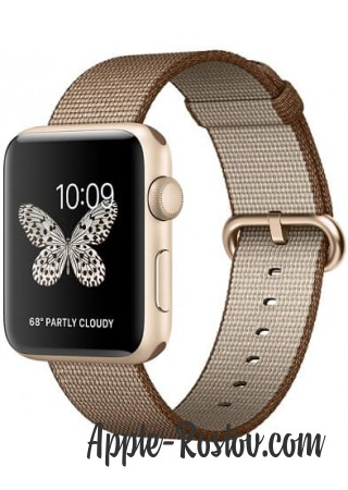 Apple Watch Series 2 42mm Gold with Woven Nylon