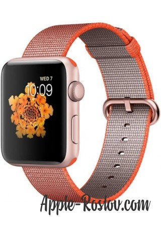 Apple Watch Series 2 42mm Rose Gold with Woven Nylon