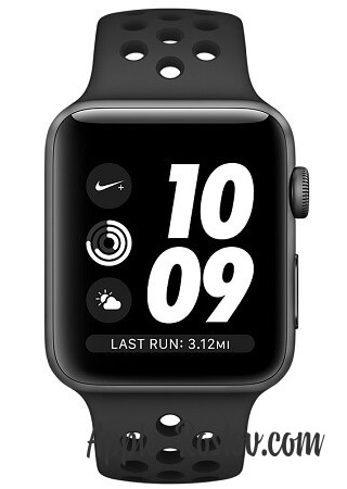 Apple Watch Series 3 NIKE+ 38 mm Space Gray/Black