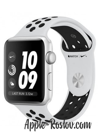 Apple Watch Series 3 NIKE+ 38 mm Silver/Pure Platinum
