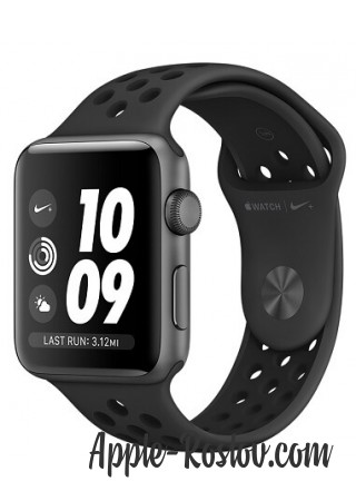 Apple Watch Series 3 NIKE+ 42 mm Space Gray/Black