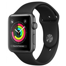 Apple Watch 3 38mm Space Gray/Black
