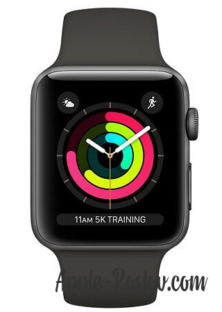 Apple Watch 3 42mm Space Gray/Gray